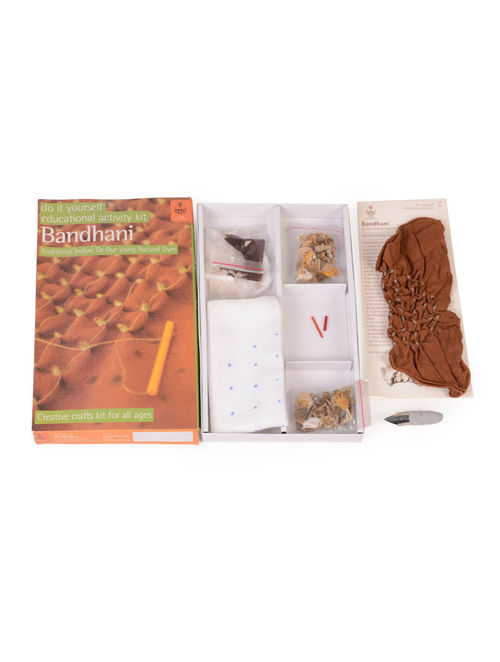 Buy Diy Indian Craft Kit Bandhani Tie Dye Kit Online At