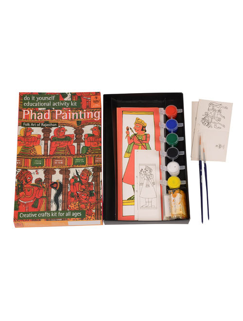 Buy diy indian art kit phad painting of rajasthan online at diy indian art kit phad painting of rajasthan solutioingenieria Images