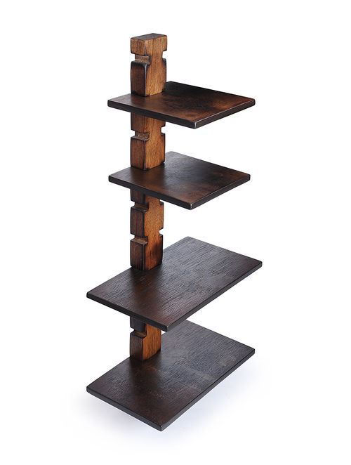 Remarkable Buy Wooden Shelf Support With Shelves Set Of 5 Online At Jaypore Com Download Free Architecture Designs Osuribritishbridgeorg