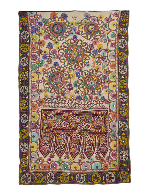Buy Kutch Embroidery Wall Hanging Online At Jaypore
