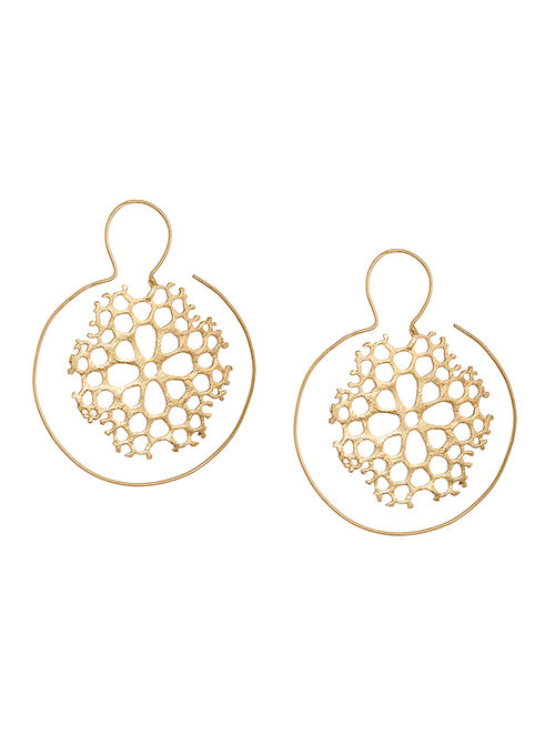 Clic Gold Plated Earrings