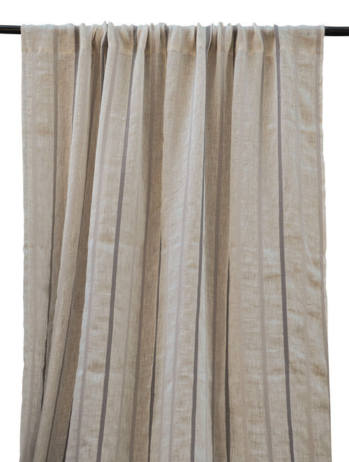Yarn Dyed Thin Stripe Curtain 84in x 48in