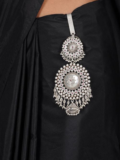 Buy Floral Silver Temple Chabbi Challa Online At Jaypore Com