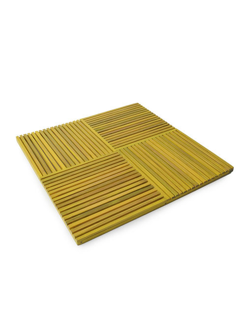 Buy Yellow Slat Bamboo Placemat 12in x 12in by Bamboo  : tbdhohamcnajp09 m 13 from www.jaypore.com size 500 x 662 jpeg 35kB