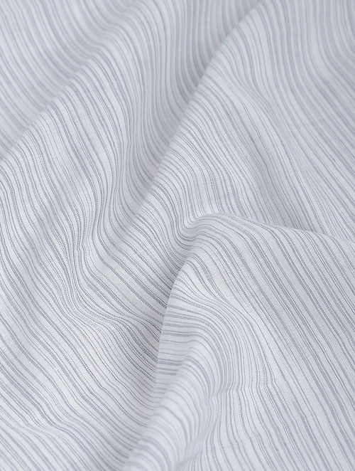 Buy Grey-White Khadi-Cotton Fabric Online at Jaypore.com