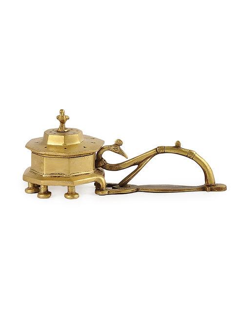 Buy Golden Brass Incense Burner L75in W27in H3in  : twihoj000253405 11 from www.jaypore.com size 500 x 662 jpeg 22kB