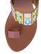 Multicolored Handcrafted Faux Leather Kolhapuri Block Heels