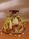 Yellow Handcrafted Khim Khwab Brocade Potli