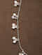 White Silver Handcrafted Necklace With Pearls