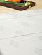 Mustard Handblock Printed Cotton Single Dohar (98in x 63in)