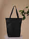 Silver Handcrafted Genuine Leather Tote Bag