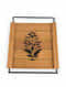 Ochre and Yellow Handcrafted Steam Beech Wood Tray (L - 10.75in, W - 10.75in, H - 0.75in)