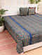 Multicolored Handcrafted Ajrakh Bed Cover (103in X 89in)