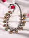 Red Green Dual Tone Tribal Necklace