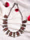 Red Dual Tone Tribal Necklace