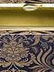Black Handcrafted Banarasi Brocade Silk Clutch