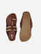 Brown Handcrafted Leather Kolhapuri Flats