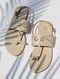 Cream Handcrafted Sandals