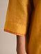 Mustard Chanderi Kurta