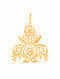 Gold Plated Sterling Silver Pendant