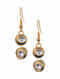 Black Gold Tone Kundan Mangalsutra Necklace With Earrings