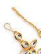 Gold Tone Kundan Bracelet