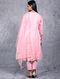 Padmini Pink Embroidered Chanderi Silk Kurta