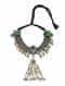 Green Dual Tone Tribal Necklace