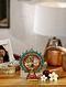 Natraj Brass Table Top Accent (L-4.75in, W-1.5in, H-6in)