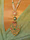 Gold Polki Necklace with Emerald and Pearls
