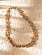 Multicolored Topaz Peridot Carnelian Beaded Necklace