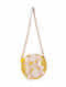 Yellow Handcrafted Jute Sling Bag