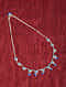 Silver Necklace With Chalcedony