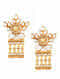 Mother of Pearl Gold-plated Sterling Silver Earrings