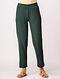 Green Elasticated Waist Poly-cotton Pants