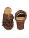 Brown Handcrafted Block Heels