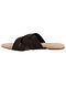 Dark Brown Handcrafted Flats