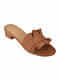 Tan Handcrafted Box Heels