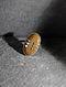 Jasper Silver Adjustable Ring