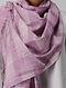 Purple Handloom Cotton Stole