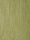 Green Crinkled Silk Cotton Dupatta with Zari