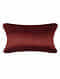 Chimera Red Silk Cushion Cover (26.5in x 20in)