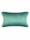 Shell Green Silk Cushion Cover (20in x 14in)