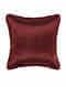 Calico Orange Silk Cushion Cover (20in x 20in)