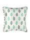 Ambi Green Silk Cushion Cover (19.5in x 19.5in)