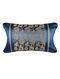 Chimera Blue Silk Cushion Cover (26in x 20in)