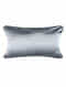 Shell Blue Silk Cushion Cover (20in x 14in)