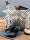 Beige Printed Sling Bag