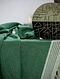 Green Cotton Bath Towel (61in x 31in)