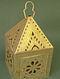 Handcrafted Brass Mandirva Lamp (L:13cm, W:13cm, H:22cm)